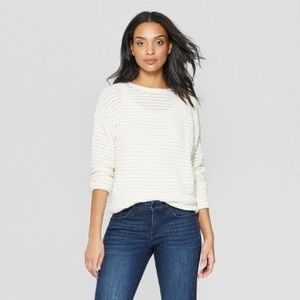 Target Universal Thread Open Stitch Sweater